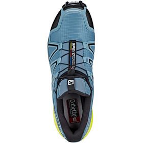 Salomon Speedcross 4 Shoes Men bluestone/black/sulphur spring